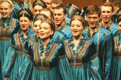 Коркинцев приглашают на концерт Сибирского народного хора