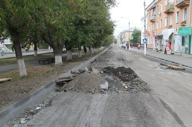 Улица Цвиллинга будет недоступна для автомобилей ещё две недели
