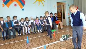 Первоклассников Коркино обучают в Школе дорожных наук