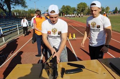 Коркинцы стали призёрами военно-спортивной игры