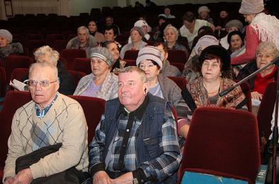 Коркинские ветераны ждут полезных встреч