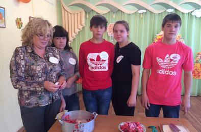 Воспитанники «Радуги» приготовили осенний натюрморт