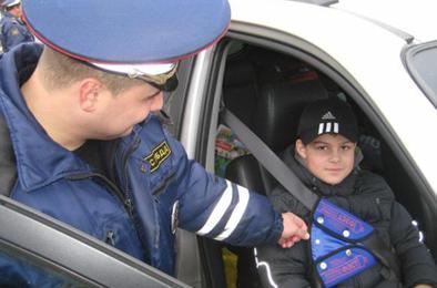 Завтра ГИБДД проверит как коркинцы перевозят детей