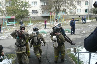 В Коркинском районе ликвидировали «аварию» и последствия «взрыва»