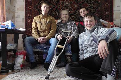 На счету коркинских студентов-волонтёров немало добрых дел