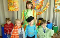 Дошкольники Коркино побывали на осеннем празднике