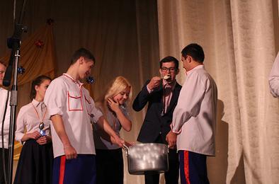Первокурсников КГСТ посвятили в студенты