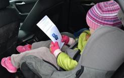 Коркинцы нарушают правила перевозки детей