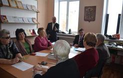 Глава района встретился с активистами ветеранской организации