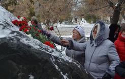 В Коркинском районе состоялся митинг в память о жертвах репрессий