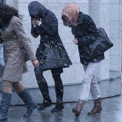 МЧС предупреждает о сильном ветре и снеге