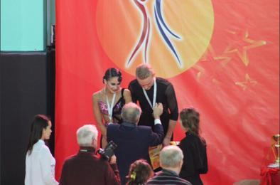 В Коркино открылся клуб спортивных бальных танцев