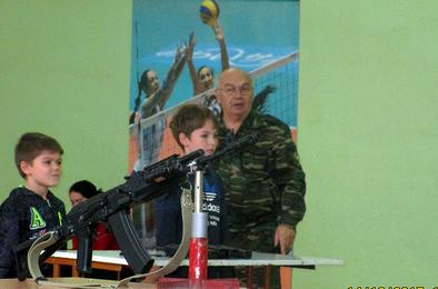 В Коркинской школе создали юнармейский отряд