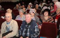 Коркинским ветеранам расскажут о теплоснабжении и воде