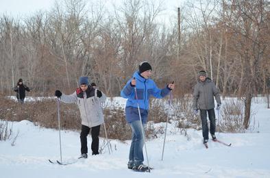 В городском парке Коркино готовятся к лыжному сезону