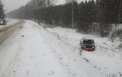 Пострадавший в ДТП водитель госпитализирован в коркинскую больницу