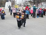 Розинцы провели турнир «Зимние забавы»