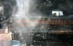 В Коркино бани горят почти каждую неделю