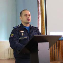 Школьники Коркино встретились с офицерами