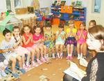 Коркинским малышам рассказали о добрых книгах