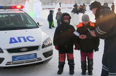 ГИБДД Коркино проводит операцию «Зимние каникулы»