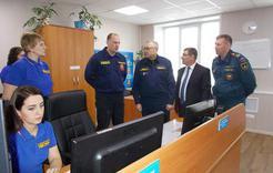 Коркинцы показали гостям со всей области работу системы «112»