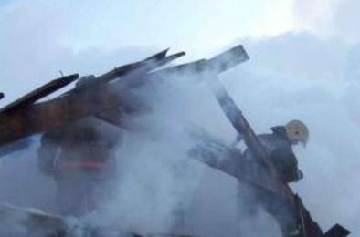 На станции Дубровка пожарные Коркино тушили возгорание