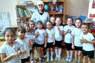 Детсадовцам Коркино рассказали как не заболеть