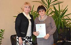 Благодарность министра вручена коркинской журналистке