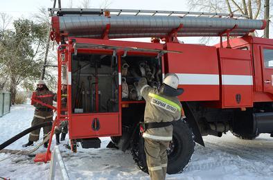 Пожарные Коркино несут службу в усиленном режиме