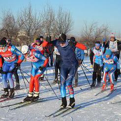 В Коркино на старт Рождественской лыжни вышла сотня спортсменов