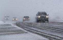 На Южный Урал завтра придут сильный снег и метели