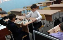 В коркинской школе обучают юных шахматистов