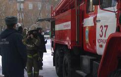 В частном секторе Коркино горел дом на двух хозяев