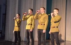 В Коркинском районе открылся патриотический месячник