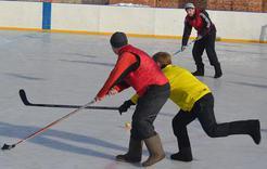 В Коркино состоится турнир по хоккею в валенках
