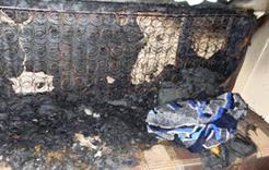 Вчера в Коркино произошёл пожар в многоквартирном доме