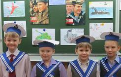 Школьники Коркино попробовали себя в роли защитников Отечества