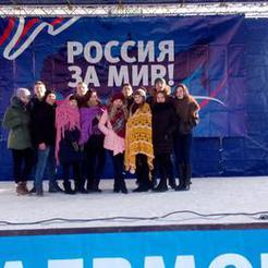 Коркинцы участвовали в митинге в честь победы под Сталинградом