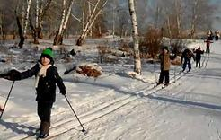 Юнармейцы Коркино совершили лыжный рейд