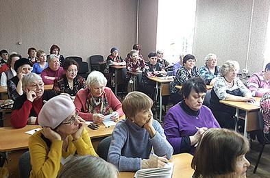 Народный университет Коркино приглашает садоводов