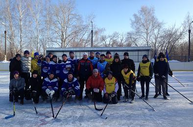 В Коркинском районе по инициативе «единороссов» прошёл хоккейный турнир