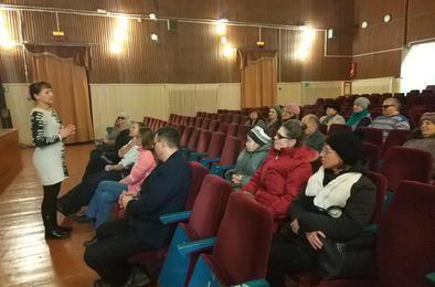 В Коркино слабовидящим показали кино с тифлокомментариями