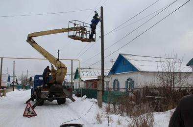 В Коркино приступили к освещению улиц частного сектора