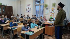 Казаки клуба «Ермак» побывали в гостях у розинских школьников