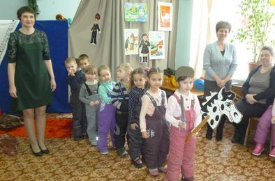 Детсадовцы Коркино справились с армейскими заданиями