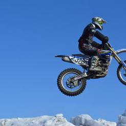 В Коркино состязались «летающие» мотоциклисты