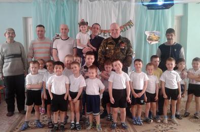 Коркинские детсадовцы готовятся стать защитниками