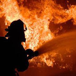 Сегодня ночью в Коркино при пожаре погибли два человека