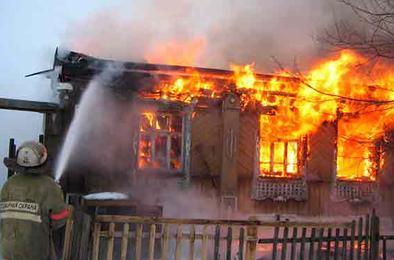 В Коркино при пожаре погиб владелец дома